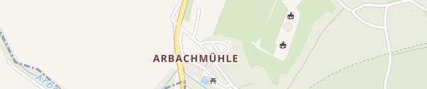 Karte Gasthof Arbachmühle Mannersdorf am Leithagebirge