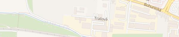 Karte Traťová Brno