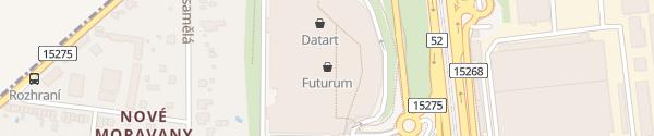 Karte OC Futurum Brno-jih