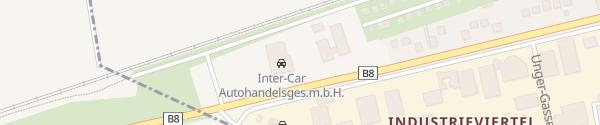 Karte Hyundai Inter-Car Strasshof an der Nordbahn