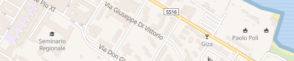 Karte Via Giuseppe di Vittorio Molfetta