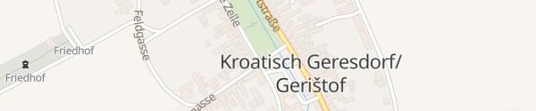 Karte Bachäcker Kroatisch Geresdorf