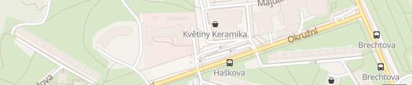 Karte Billa Brno