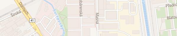 Karte Siemens Brno