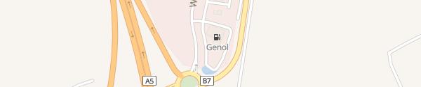 Karte Genol Mistelbach