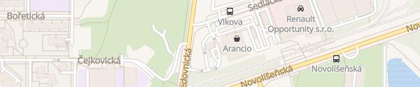 Karte MOL Brno-Líšeň