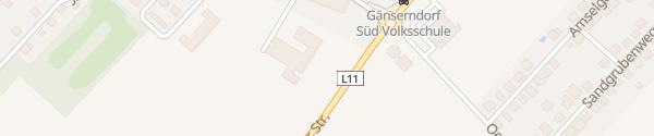 Karte Volksschule Gänserndorf-Süd Gänserndorf