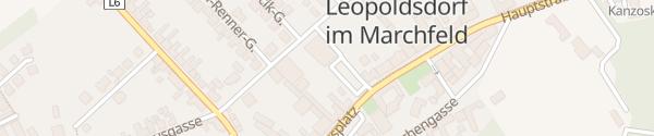 Karte Spar Leopoldsdorf im Marchfelde