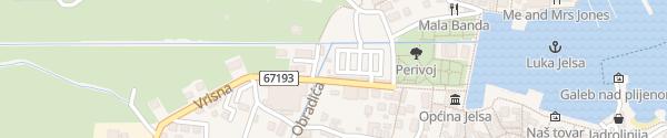 Karte Strossmayerovo šetalište Jelsa
