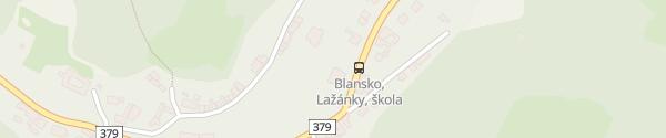 Karte Penzion U Jezku Blansko