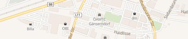 Karte ÖAMTC Gänserndorf