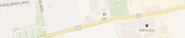 Karte MOL Bajcsy-Zsilinszky utca Letenye
