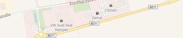 Karte ÖAMTC Bruck an der Leitha