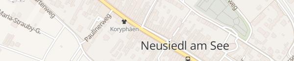 Karte Hauptplatz Neusiedl am See