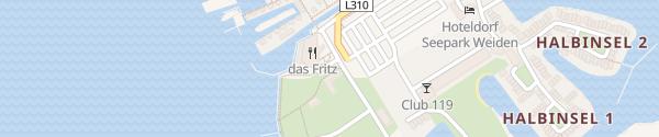 Karte das Fritz Gemeinde Weiden am See