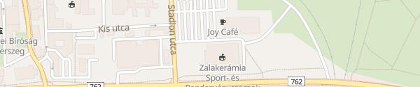 Karte Városi Sportcsarnok Zalaegerszeg
