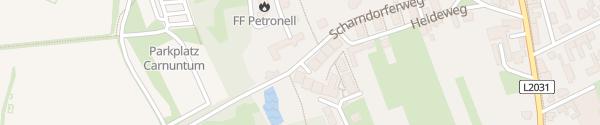 Karte Romanische Kapelle Petronell-Carnuntum