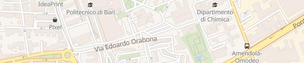 Karte Campus Universitario Bari