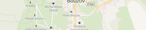 Karte Hotel Bouzov Bouzov