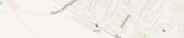 Karte Bahnhof Gols
