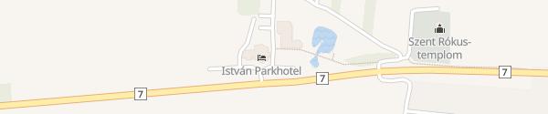 Karte István Parkhotel és Étterem Sormás