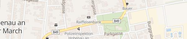 Karte Liechtensteinstraße Hohenau an der March