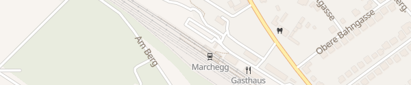 Karte Bahnhof Marchegg