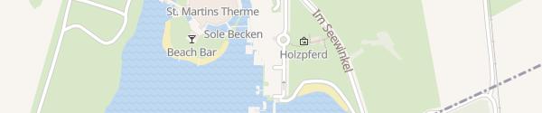 Karte Lodge St. Martins Therme Frauenkirchen