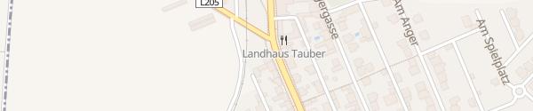 Karte Gasthof Tauber Wallern im Burgenland
