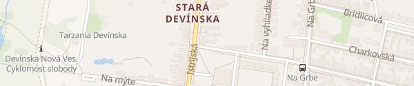 Karte Barlando Devinska Nova Ves