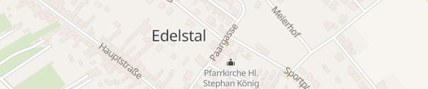 Karte E-Bike-Ladestation Sportplatz Edelstal