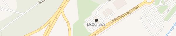 Karte McDonald's Söderhamn