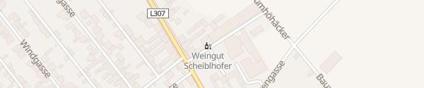 Karte Weingut Scheiblhofer Andau