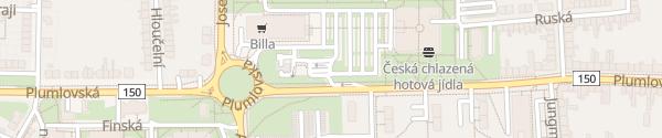 Karte OMV Plumlovská Prostějov