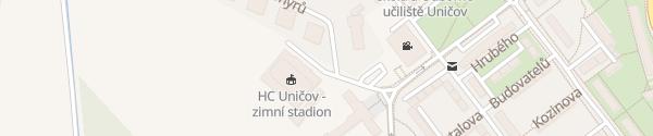 Karte Zímní Stadion Uničov