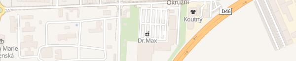 Karte Kaufland Okružní Prostějov