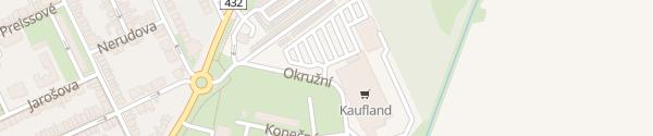 Karte Kaufland Hodonín