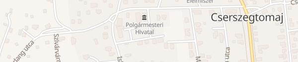 Karte Polgármesteri Hivatal Cserszegtomaj