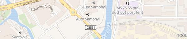 Karte Auto Samohýl Olomouc