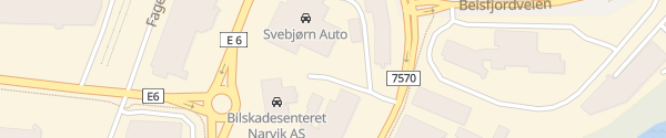 Karte Svebjørn Auto Narvik