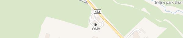 Karte OMV Bruntál