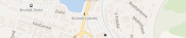 Karte Kaufland Bruntál