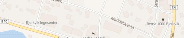 Karte Bjerkvik Hotel Bjerkvik