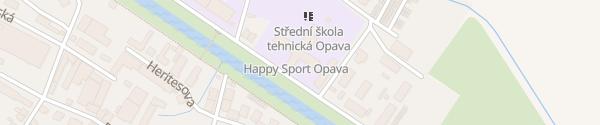 Karte Střední škola Technická Opava