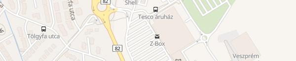 Karte Tesco Veszprém