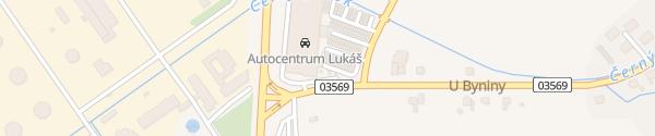 Karte Autocentrum Lukáš Valašské Meziříčí