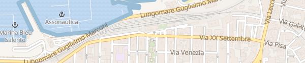 Karte Stazione Gallipoli