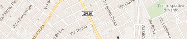 Karte IP Via XXV Luglio Nardò