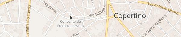 Karte Via Garibaldi Copertino