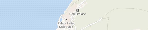 Karte Hotel Dubrovnik Palace Dubrovnik